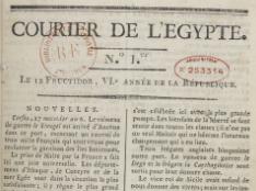 Courier de l'Égypte. 1798-1801