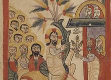 Bibliothèque de l'archevêché chaldéen de Siirt, dans le Kurdistan turc