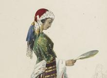 La Péri : treize maquettes de costumes, par Paul Lormier et Hippolyte d'Orschwiller. 1843