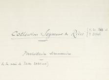 Seymour de Ricci (1881-1942)