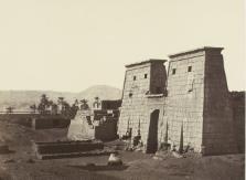 Album photographique de la mission remplie en Égypte par Emmanuel de Rougé. 1865