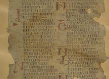 Pentateuque <br> Tétraévangéliaire copte. 1178-1180