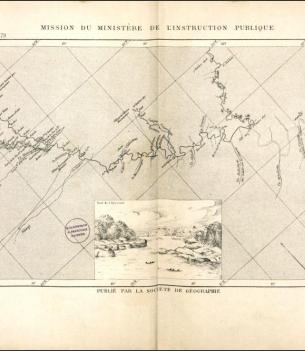 Fleuves de l'Amérique du sud :1877-1879. Missions du ministère de l'instruction publique  J. Crevaux. 1883