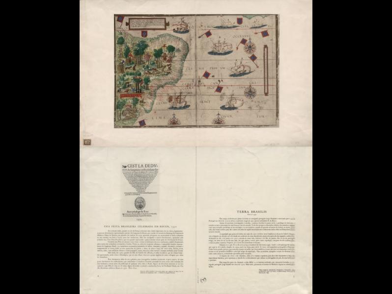 Tabula hec regionis magni Brasilis  L. Homem. 1555
