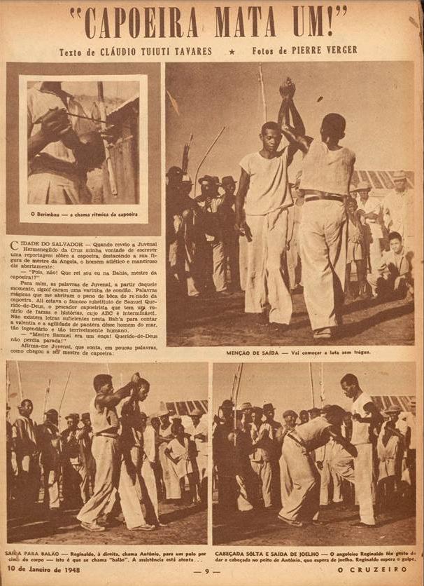 Capoeira mata um  O Cruzeiro. 1948