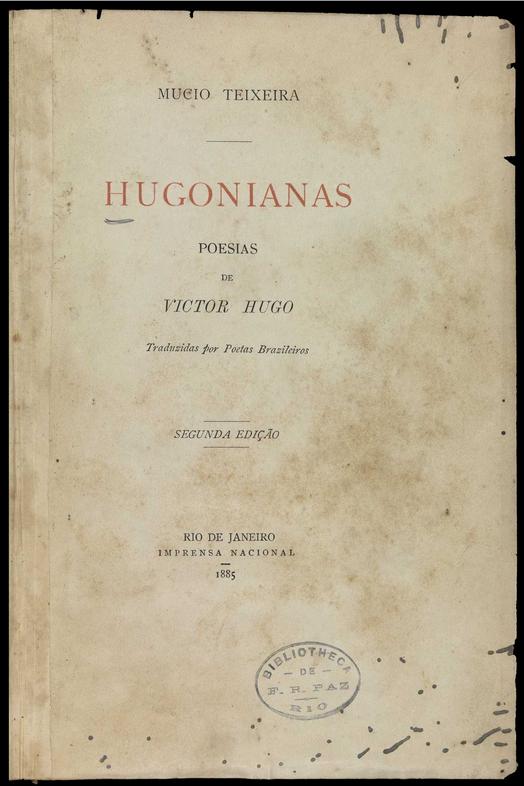 Hugonianas : poesias de Victor Hugo  1885