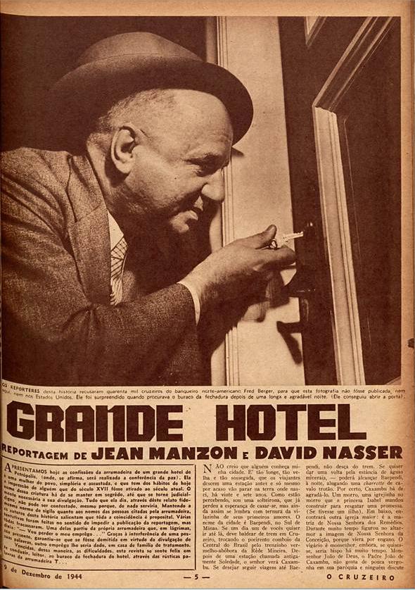 Grande hotel  O Cruzeiro edição 07. 1944