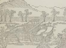 Différents palais et temples de l'Empereur de la Chine <br> 1745