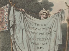 Zbiór rozmaitych stroiów polskich