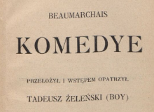 Komedye. 1917