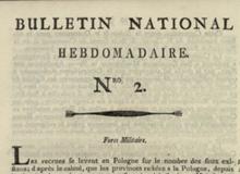 Bulletin national hebdomadaire