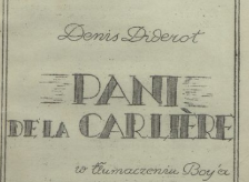 Pani de la Carlière. 1948