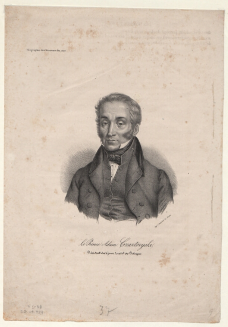 Le Prince Adam Czartoryski [...]  G. Aubert et Junca. 1830