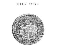 Rocznik / Annuaire 1867