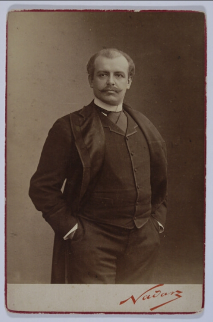Jan Reszke <br> Nadar (1820-1910). 1889