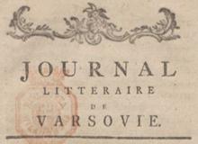 Journal littéraire de Varsovie