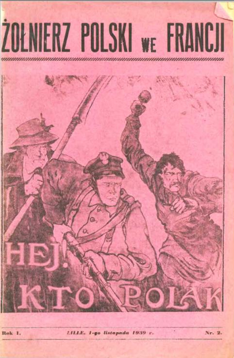 Zolnierz polski we Francji <br> 1939