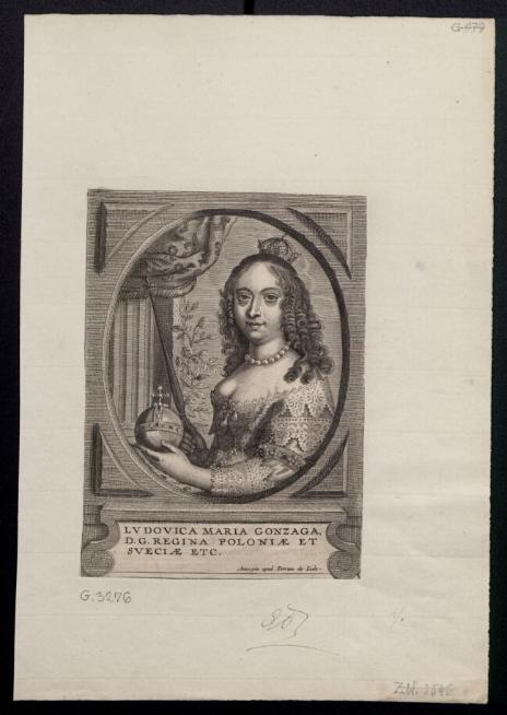 Ludovica Maria Gonzaga, D. G. Regina Poloniae et Sveciae etc.