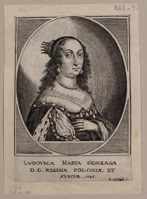 Ludovica Maria Gonzaga D. G. Regina Poloniae