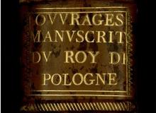 Ouvrages manuscrits de Stanislas Ier