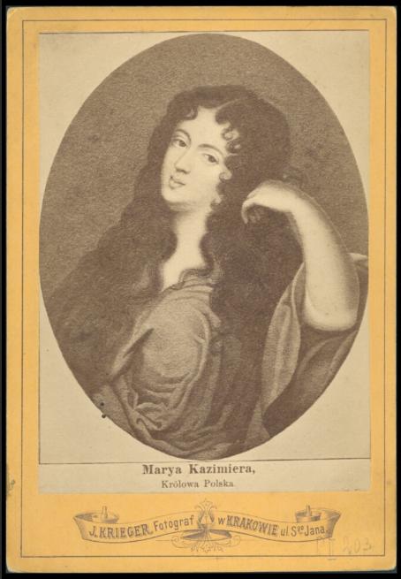 Marya Kazimiera, królowa Polska<br> I. Krieger. 1875-1880