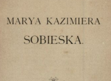 Maria Kazimiera Sobieska <br> V. Czermak. 1899