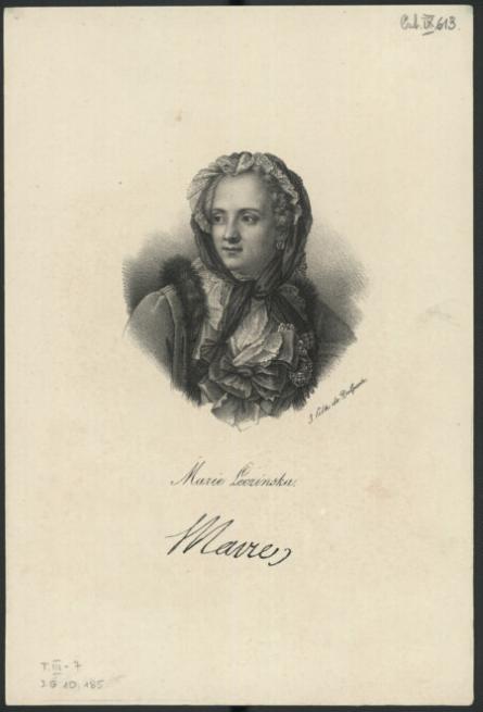 Marie Leczinska  F.-S. Delpech et J.-M. Nattier