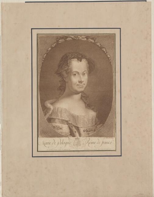Marie de Pologne Reine de France  J.-C. François