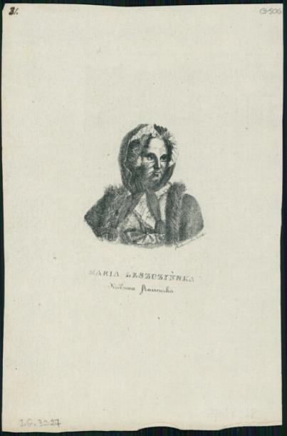 Maria Leszczyńska królowa francuska  J.-M. Nattier