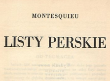 Listy perskie. 1932