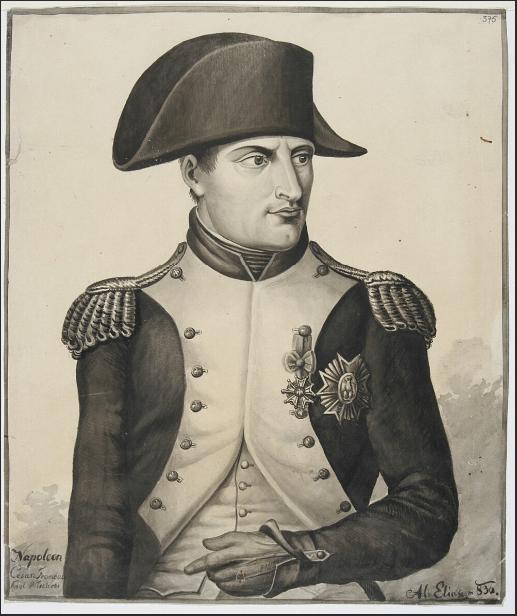 Napoleon cesarz Francuzów król Włochów  W. Eljasz. 1836