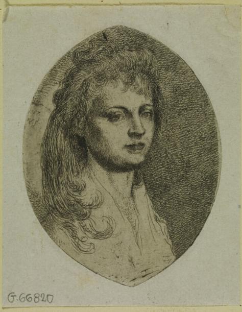 Portret żony  1787