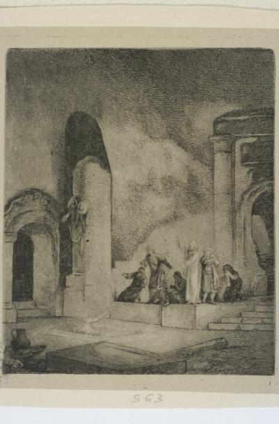 Wskrzeszenie Łazarza mniejsze  1789