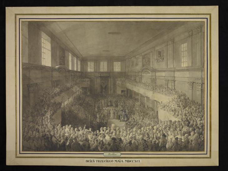 Zaprzysiezenie konstytucji 3 maja 1791  1791