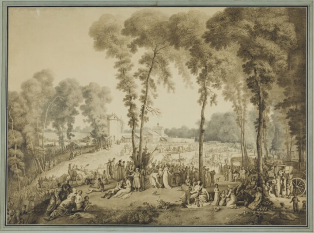 Odpust na Bielanach  1803