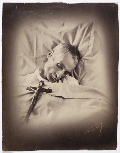 Portret pośmiertny Zygmubnta Krasińskiego <br> Nadar (1820-1910). 1859