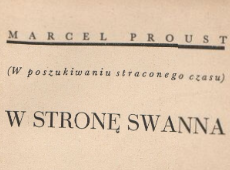 W stronę Swanna 3. 1937