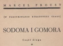 Sodoma i Gomora. Cz. 2 [t.] 1. 1939