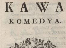 Kawa : komedya. 1779