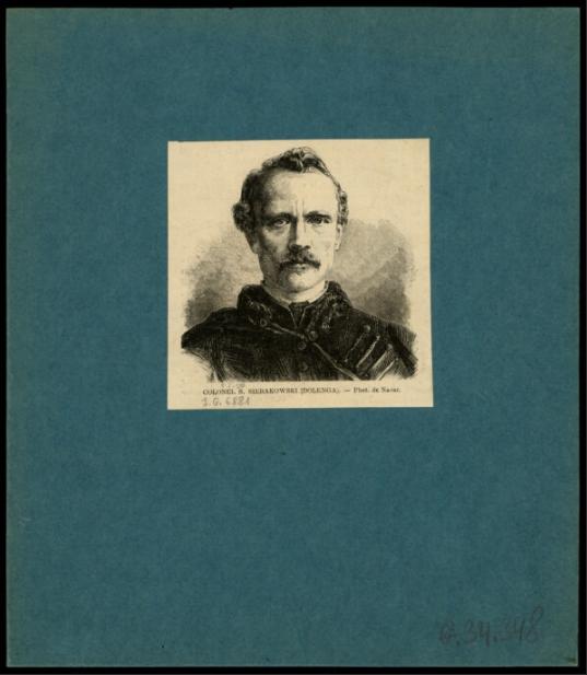 Colonel S. Sierakowski <br> Nadar (1820-1910). 1863