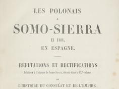 Bitwa pod Somosierrą (30 listopada 1808 roku)