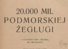 20 000 mil podmorskiej żeglugi. 1928