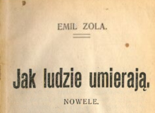 Jak ludzie umierają : nowele. 1904