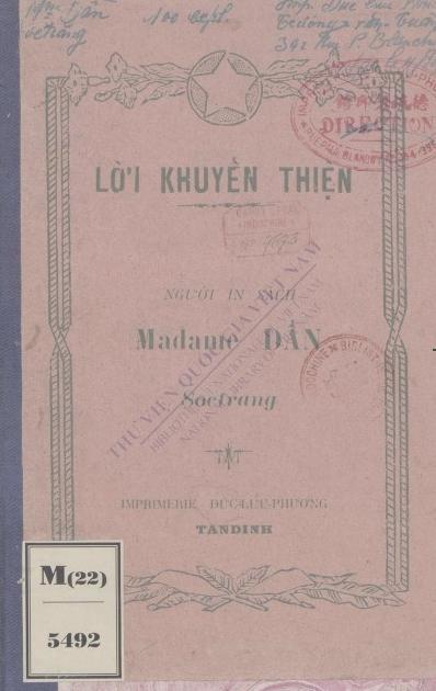Lời khuyến thiện  1928
