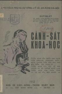 Cảnh sát khoa học  Huỳnh Kỳ. 1952