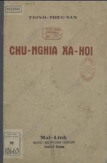 Chủ nghĩa xã hội  Thúc Lan Trịnh, G. Deville. 1937