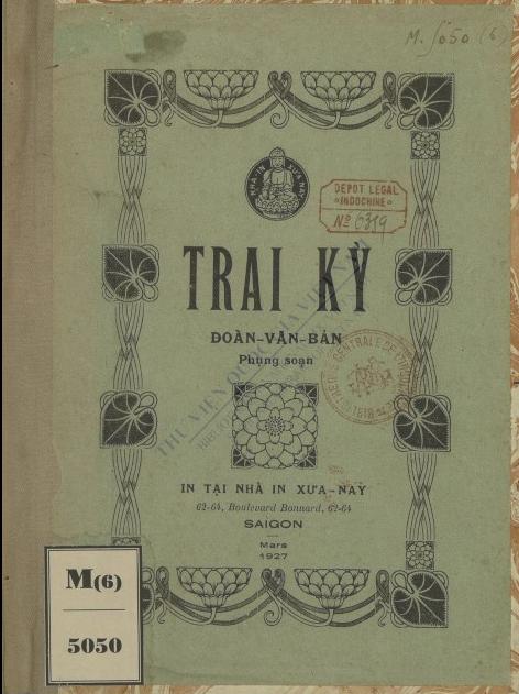 Trai Kỳ  V. B. Đoàn. 1927