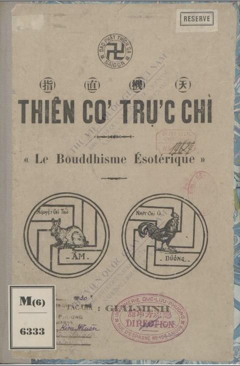 Thiên cơ Trực chỉ : Chơn giải cuốn: Huệ cảnh Tây-Phương  Giai Minh. 1930