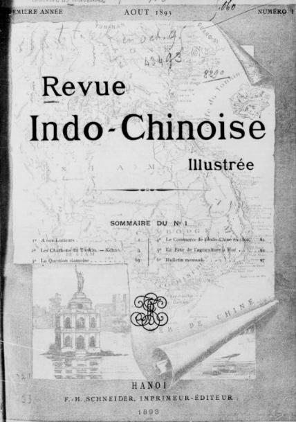 Revue indochinoise illustrée  1893-1923