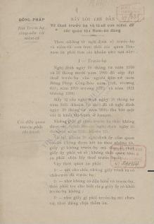 Droits d'enregistrement et de timbre pour servir aux Juges des Tribunaux Indigènes1926